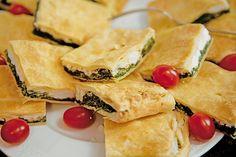 Griechische Blätterteig-Spinat-Taschen