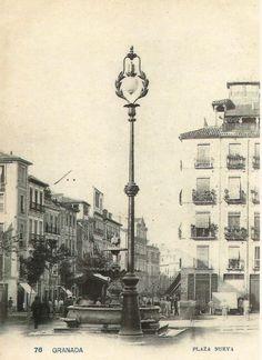 Sede Canónica - Gran Poder y Esperanza Granada Granada, San Gil, Santa Ana, Andalusia, Tower, Black And White, Antiques, Building, Travel