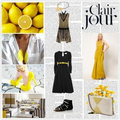 Yellow, created by divineshape on Polyvore