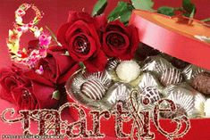 8 Mars, 8th Of March, Happy Halloween, Christmas Wreaths, Happy Birthday, Animation, Holiday Decor, Spring, Crafts