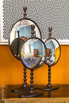 Tendencias Casa Decor 2014: espejos redondos en el espacio de Jean Porsche