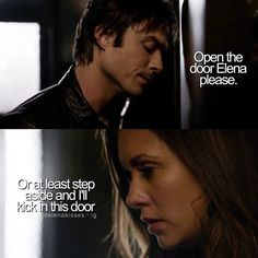 """#TVD 6x06 """"The More You Ignore Me, the Closer I Get"""" - Damon and Elena"""