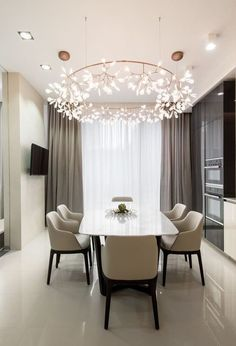 Order now the best luxury  lighting fixtures for your interior design project at  luxxu.net #diningroom #interiordesign #luxury #homedecor #decor #lighting