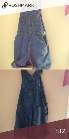 Short overalls . Vintage Short overalls, little sticker stain that can be easily taken out . GAP Other