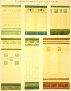 Laurelhurst Craftsman Bungalow: Minton Tile 1909 catalog