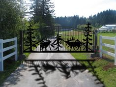Elk Scene Ranch Entry Gate                                                                                                                                                                                 More