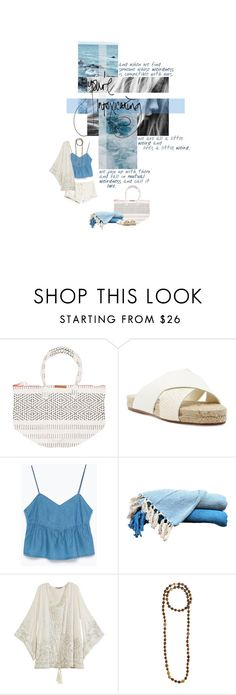 """""""E v e r y G r a i n O f S a n d"""" by nadinekenific ❤ liked on Polyvore featuring Billabong, Dolce Vita, H&M, Zara, Calypso St. Barth and Tai"""