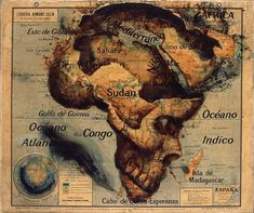 Map Painter Fernando Vicente Explores The Art In Cartography Afrika Tattoos, Illustrations, Illustration Art, Imprimibles Halloween, Map Painting, Map Globe, Africa Map, Spanish Artists, Old Maps