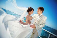Romantik düğün fotoğrafları...
