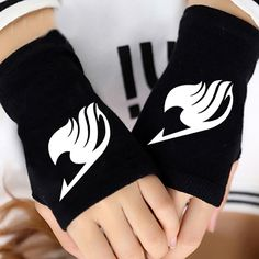 Hot Anime Fairy Tail Guild Finger Cotton Knitting Wrist Gloves Mitten Lovers Accessories Cosplay Warm Cosplay Fingerless Gloves now on sale at Rykamall Fairy Tail Merchandise, Anime Merchandise, Fairy Tail Cosplay, Fairy Tail Anime, Cotton Gloves, Knitted Gloves, Otaku, Moda Pop, Mode Kawaii