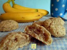 Biscotti morbidi alla banana: una ricetta facile e veloce, senza uova, burro o derivati del latte e biscotti deliziosi!!