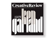 The Creative Review issue on Ken Garland