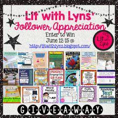 Lit w/ Lyns: Lit with Lyns Follower Appreciation Giveaway