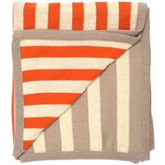 Dot & Bo Beachgoer Throw Blanket ($90) ❤ liked on Polyvore featuring home, bed & bath, bedding, blankets, nautical themed bedding, nautical throw blanket, nautical bedding, stripe bedding and sport bedding