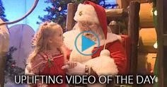 When Santa asked young Madyson Pholman what she wanted for Christmas, the 3-year-old had only one wish.  It's a somewhat atypical request, but Santa delivered.Grab the tissues before you watch this heartwarming video -- this is the best Christmas present this girl will ever receive!