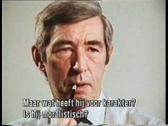 Interview Hergé 1971 [Kuifje] - YouTube
