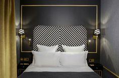 Обаяние темных оттенков: Snob Hotel в Париже | Пуфик - блог о дизайне интерьера
