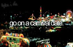 go on a carnival date