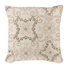 Vintage Antique Victorian Flourish Burlap Throw Pi> Vintage Antique Victorian Flourish> Pattern Designs