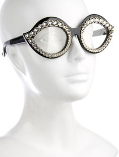 4b024e1c624 Crystal-Embellished Eyeglasses. Gucci Eyeglasses