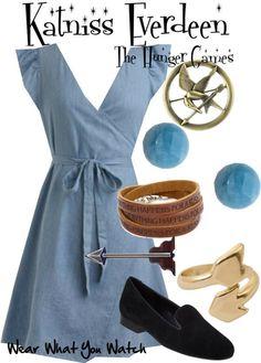 Wear What You Watch • Jennifer Lawrence as Katniss Everdeen