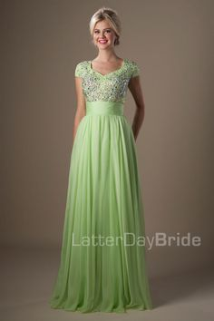 Modest Prom Dresses : Dixie