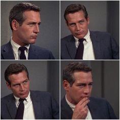 "Paul Newman in ""Torn Curtain."""