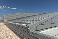 VMZinc's Double Lock Standing seam system used on roofing applications enables long strips of VMZINC to be assembled by forming single or double folds on the up-stands. A traditional light technique applied to roofs.