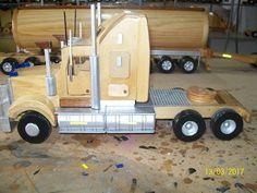 scale Kenworth heading off to a Western Australian Wedding ! Wood Hinges, Wooden Toy Trucks, Wood Toys Plans, Kenworth Trucks, Woodworking Jigs, Wooden Diy, Toys For Boys, Ideas, Wooden Toys For Kids