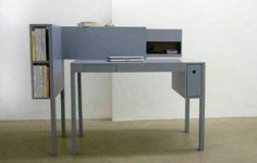 42 ausgefallene Schreibtische für Ihr Büro - schreibtische büro bureau grau design martin holzapfel