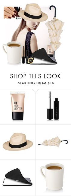 """""""Untitled #1558"""" by hannah353 ❤ liked on Polyvore featuring Charlotte Russe, Marc Jacobs, Roxy and Gucci"""