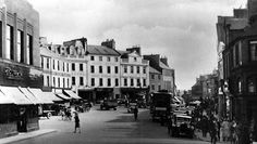 Old Photographs High Street Dumfries Scotland Old Photographs, Photos, On The High Street, Most Beautiful Cities, Old Postcards, Old Pictures, Edinburgh, Scotland, Street View