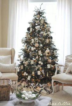 Julgran de lux Lånad bild från Dear Lillie