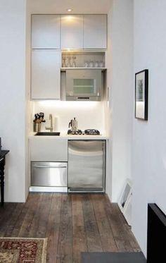 Wirklich winzigen erbaut Küche