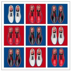 Church's famous shoes Northampton England Church's Shoes, The Fashionisto, Fashion Shoes, Mens Fashion, Mens Gear, Union Jack, Modern Outfits, Jaba, Luxury Shoes