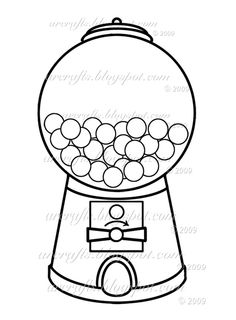 1000 images about quiet book design 4 colors on for Gum coloring pages