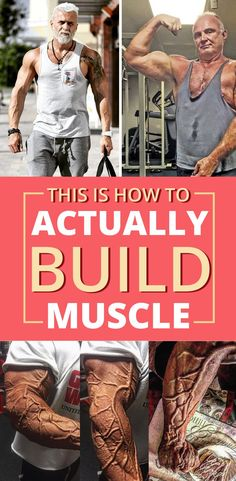 how to build lean muscles after Build muscles for beginners and those who want to exert themselves. No long hours at the gym are necessary! Muscle Fitness, Fitness Diet, Mens Fitness, Fitness Motivation, Health Fitness, Chest Workouts, Gym Workouts, By Any Means Necessary, Weight Training Workouts
