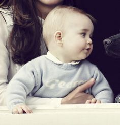 Pin for Later: 53 Photos du Prince George Toutes Plus Adorables les Unes Que les Autres