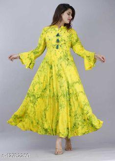 Kurtis & Kurtas Pranu Creations Anarkali Kurti Fabric: Rayon Sleeve Length: Three-Quarter Sleeves Pattern: Printed Combo of: Single Sizes: S, XL, L, M, XXL, XXXL Country of Origin: India Sizes Available: S, M, L, XL, XXL, XXXL   Catalog Rating: ★4.4 (485)  Catalog Name: Banita Fashionable Kurtis CatalogID_2478997 C74-SC1001 Code: 664-12782250-