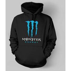 New Monster Energy Hoodie Adult Pullover Hooded Sweatshirts Hoodies... ($30) ❤ liked on Polyvore featuring tops, hoodies, jackets, shirts, shirt hoodie, pullover hoodies, hooded sweatshirt, pullover tops and hoodie shirt