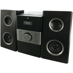 GPX(R) HC425B Home Music System