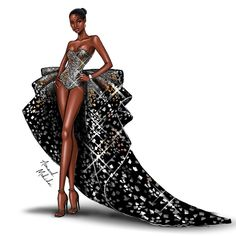 Fashion Drawing Tutorial, Fashion Figure Drawing, Fashion Drawing Dresses, Fashion Illustration Dresses, Fashion Illustrations, Drawing Fashion, Dress Design Drawing, Dress Design Sketches, Fashion Design Sketchbook