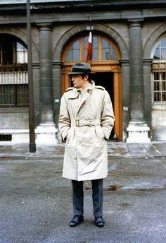 #Alain Delon in Le Samouraï