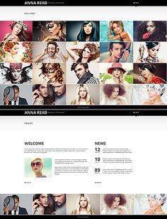 Template 49046 - Photographer Website Template