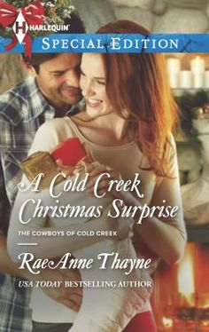 A cold creek Christmas surprise by RaeAnne Thayne. Click on the image to place a hold on this item in the Logan Library catalog.