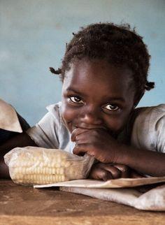 Africa |  Portrait of a school girl | © James Seigel