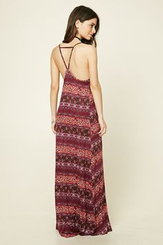 Floral Print Maxi Dress | Forever 21 - 2000197108