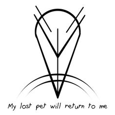"Sigil Athenaeum - Could you possibly do a sigil for ""my lost pet..."