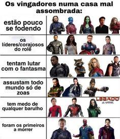 Marvel Jokes, Avengers Memes, Marvel Funny, Marvel Avengers, Marvel Comics, Ms Marvel, Captain Marvel, Dc Memes, Funny Memes