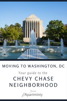 Interested in learning more about the Chevy Chase/Friendship Heights DC Neighborhood? Here's what you need to know when moving to this area. Chevy Chase, Rental Apartments, Washington Dc, The Neighbourhood, Friendship, Wanderlust, Mansions, Learning, Architecture